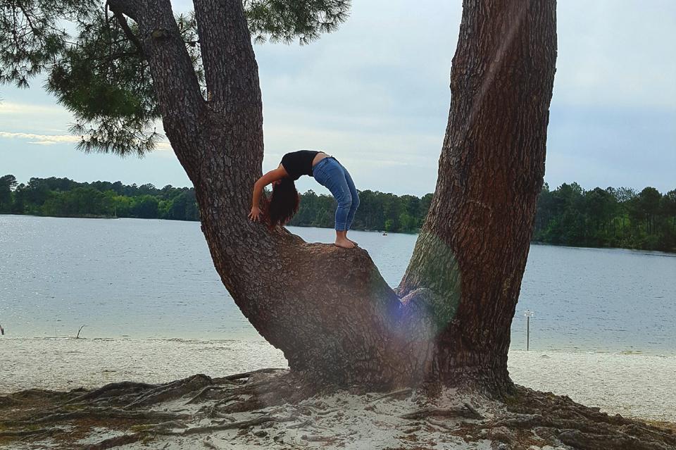Yoga aérien et vinyasa